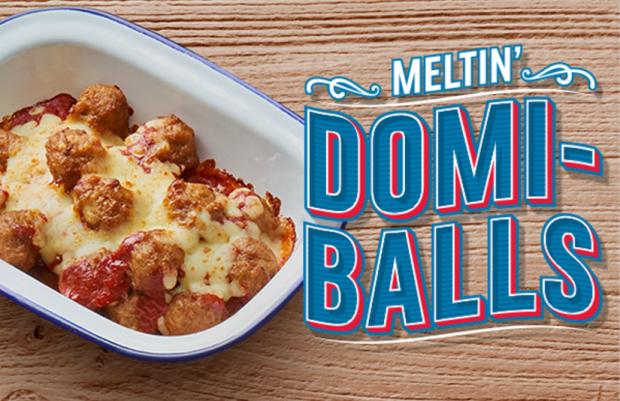 melting domi balls