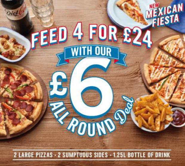 6 pound all round